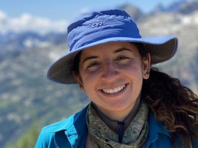 photo of Jenna Ekwealor in the field